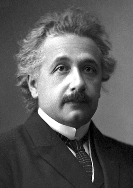 Einstein in 1921