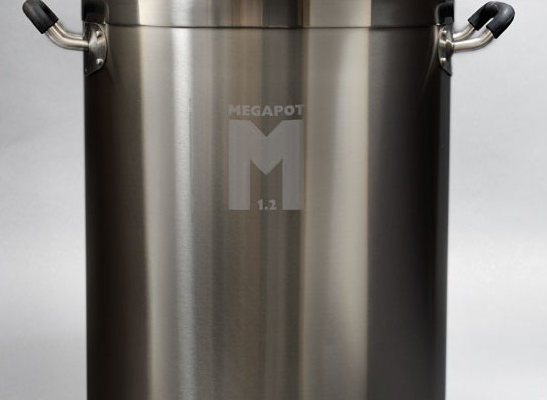 The Megapot 1.2, the basis for my electric brewing system