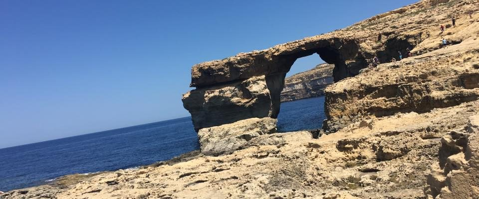 Rock Formation in Gozo