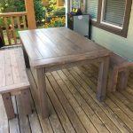 Outdoor Farmhouse/Harvest Patio Table